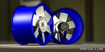 Direct Drive Tubeaxial Fans With Marine Duty Impellers