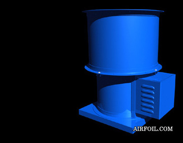 Belt Drive Stack-Cap Ventilator